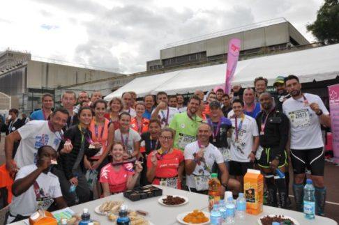 20km de Paris, équipe solidaire Un Maillot Pour la Vie et Périclès Group