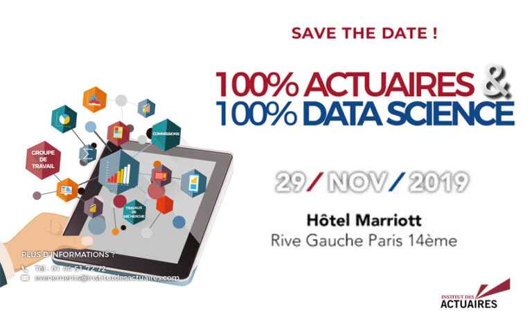 Affiche 100% Actuaires 100% Data Science
